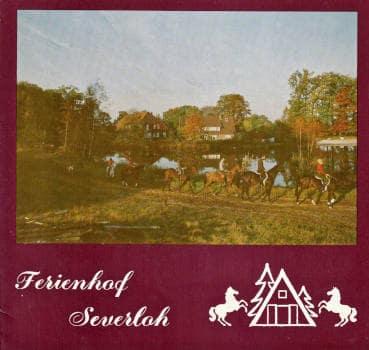 Prospekt des Reiterhof Severloh vor 40 Jahren