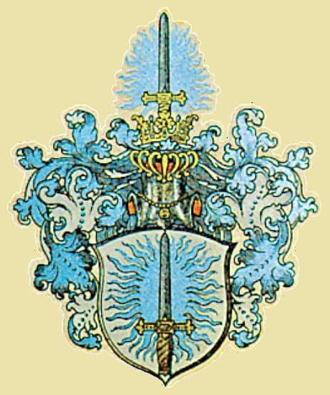 Wappen der Familie Brammer vom Reiterhof Severloh