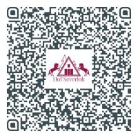 QR Code mit Vcard vom Reiterhof Severloh in der Lüneburger Heide
